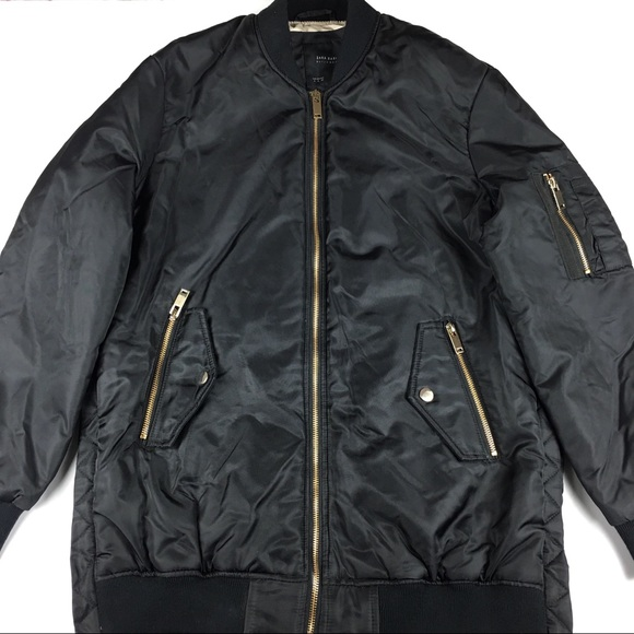 Zara Basic Bomber Outerwear Jacket